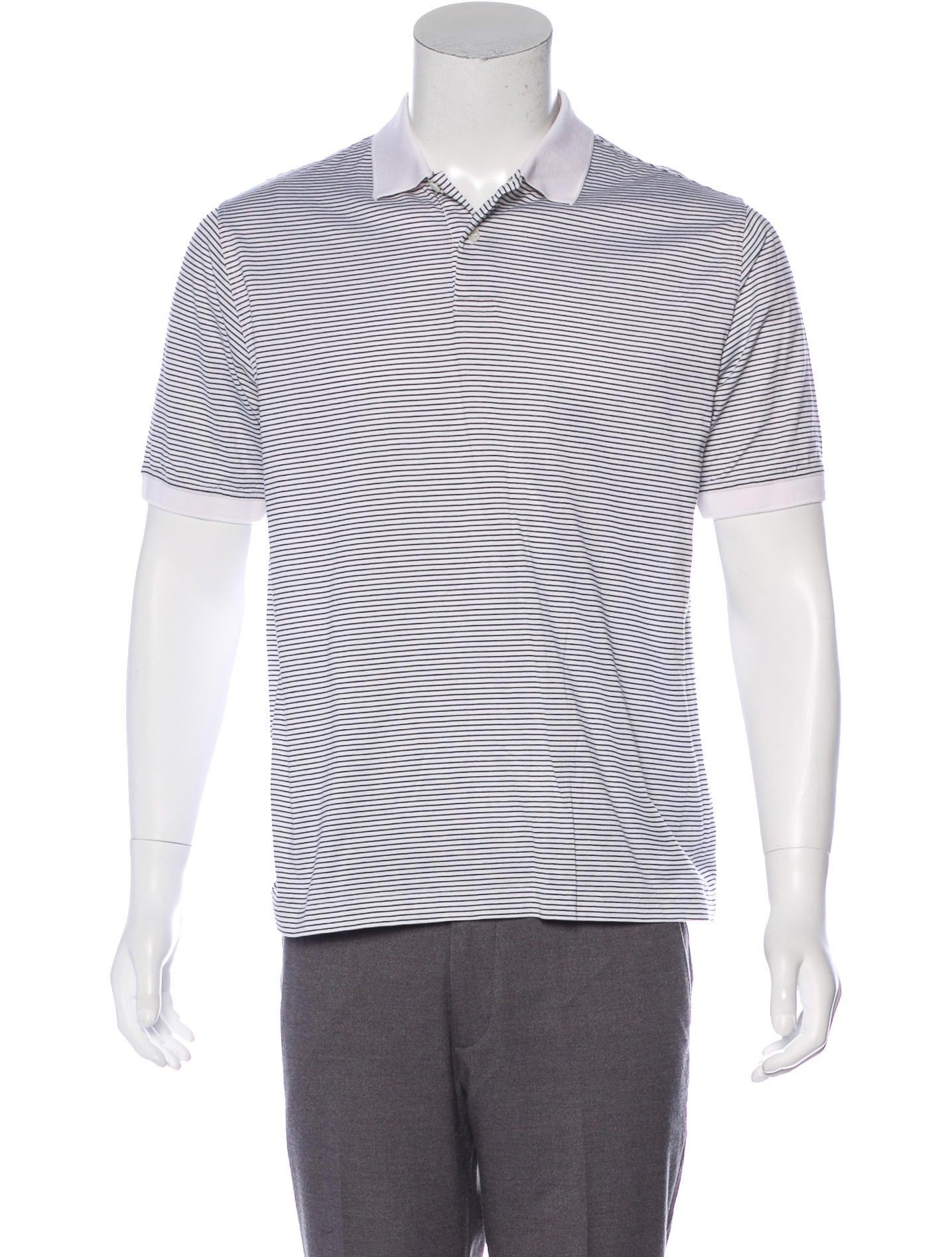 dba3131677e Burberry London Striped Polo Shirt - Clothing - WBURL43041