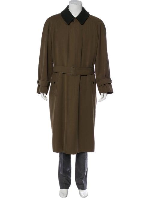 Burberry London Wool & Camel Hair Coat brown