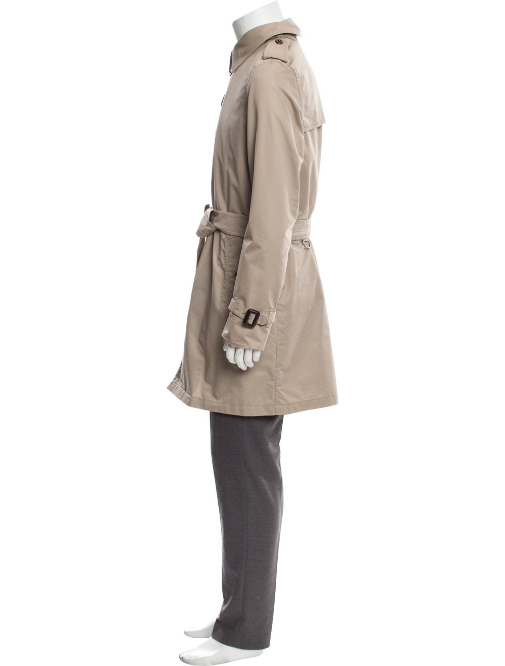 Burberry London Check-Lined Trench Coat beige - image 2