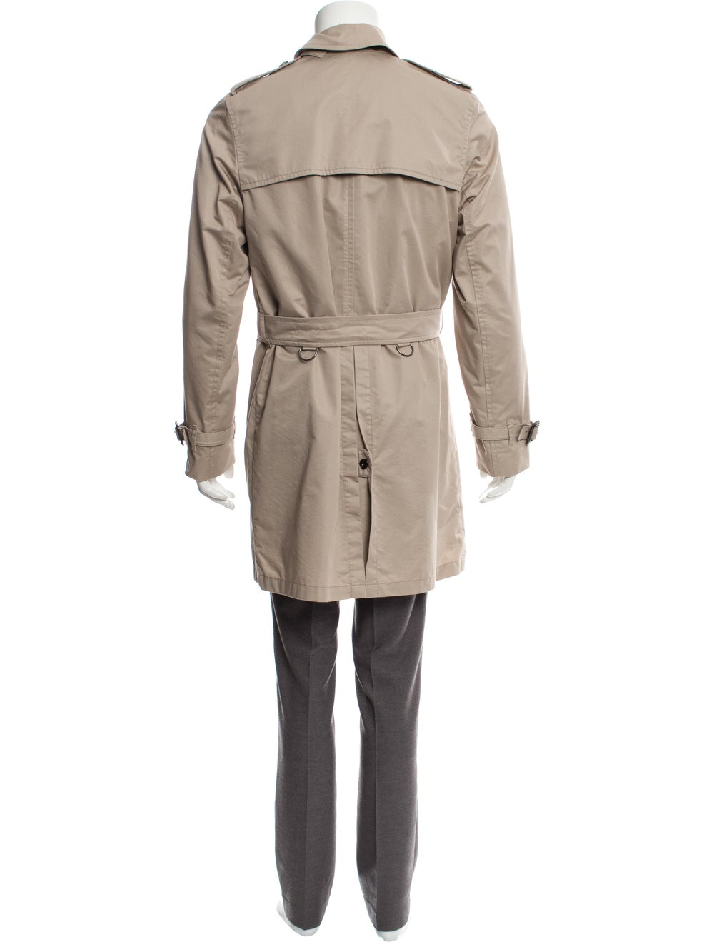 Burberry London Check-Lined Trench Coat beige - image 3
