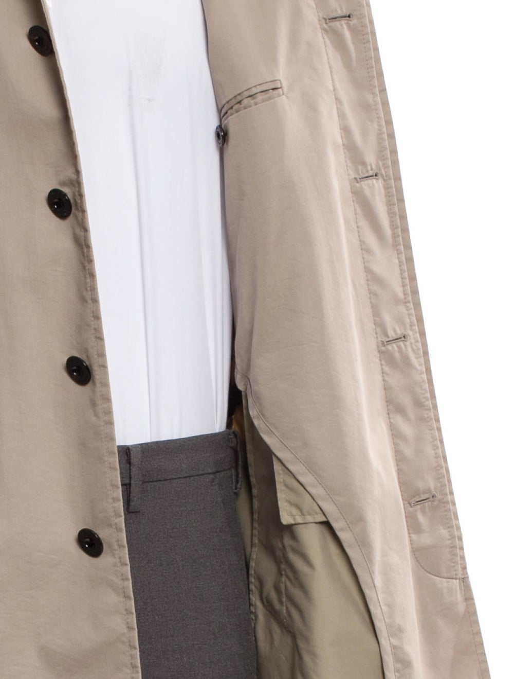 Burberry London Check-Lined Trench Coat beige - image 4