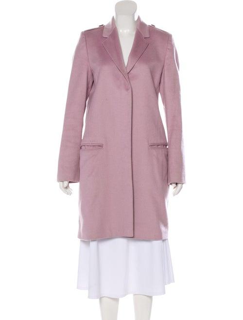 Burberry London Cashmere Trench Coat Purple