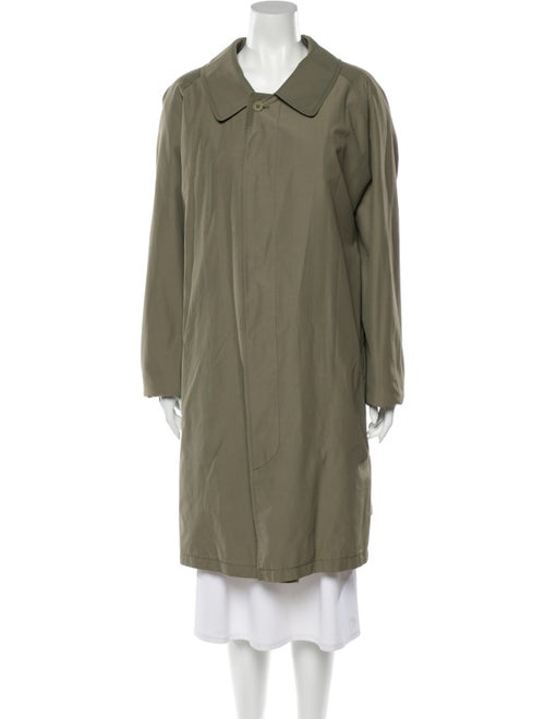 Burberry London Trench Coat Green