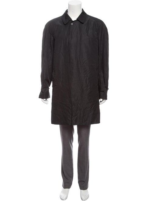 Burberry London Lightweight Macintosh Coat black