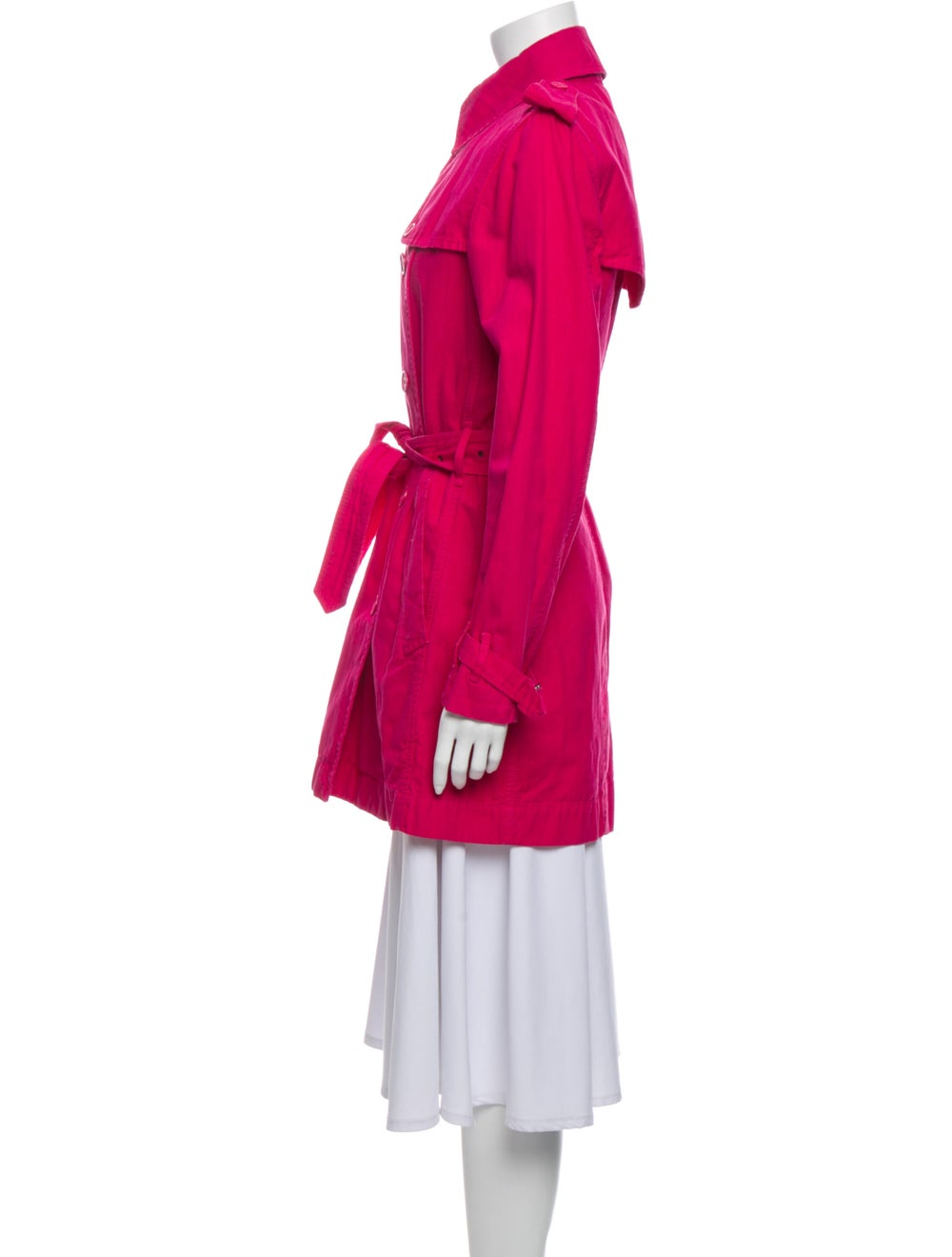 Burberry London Trench Coat Pink - image 2