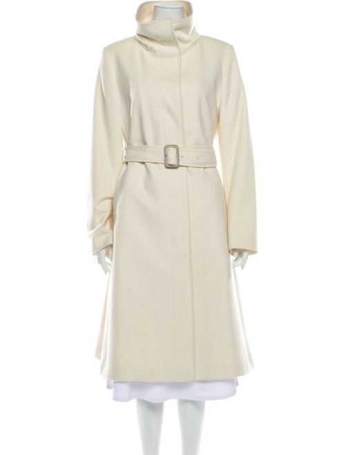 Burberry London Wool Trench Coat Wool
