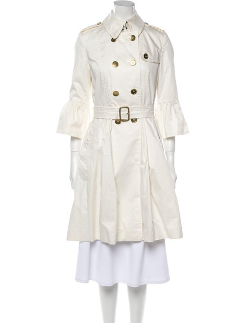 Burberry London Trench Coat White