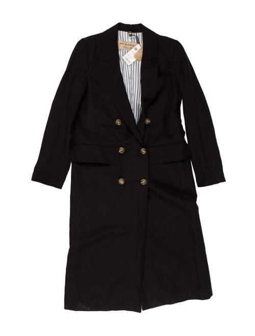 Burberry London Double-Breasted Overcoat w/ Tags