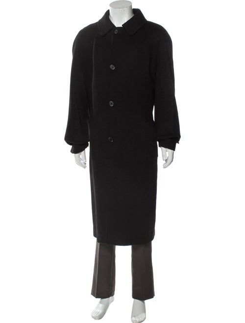 Burberry London Cashmere Overcoat Black