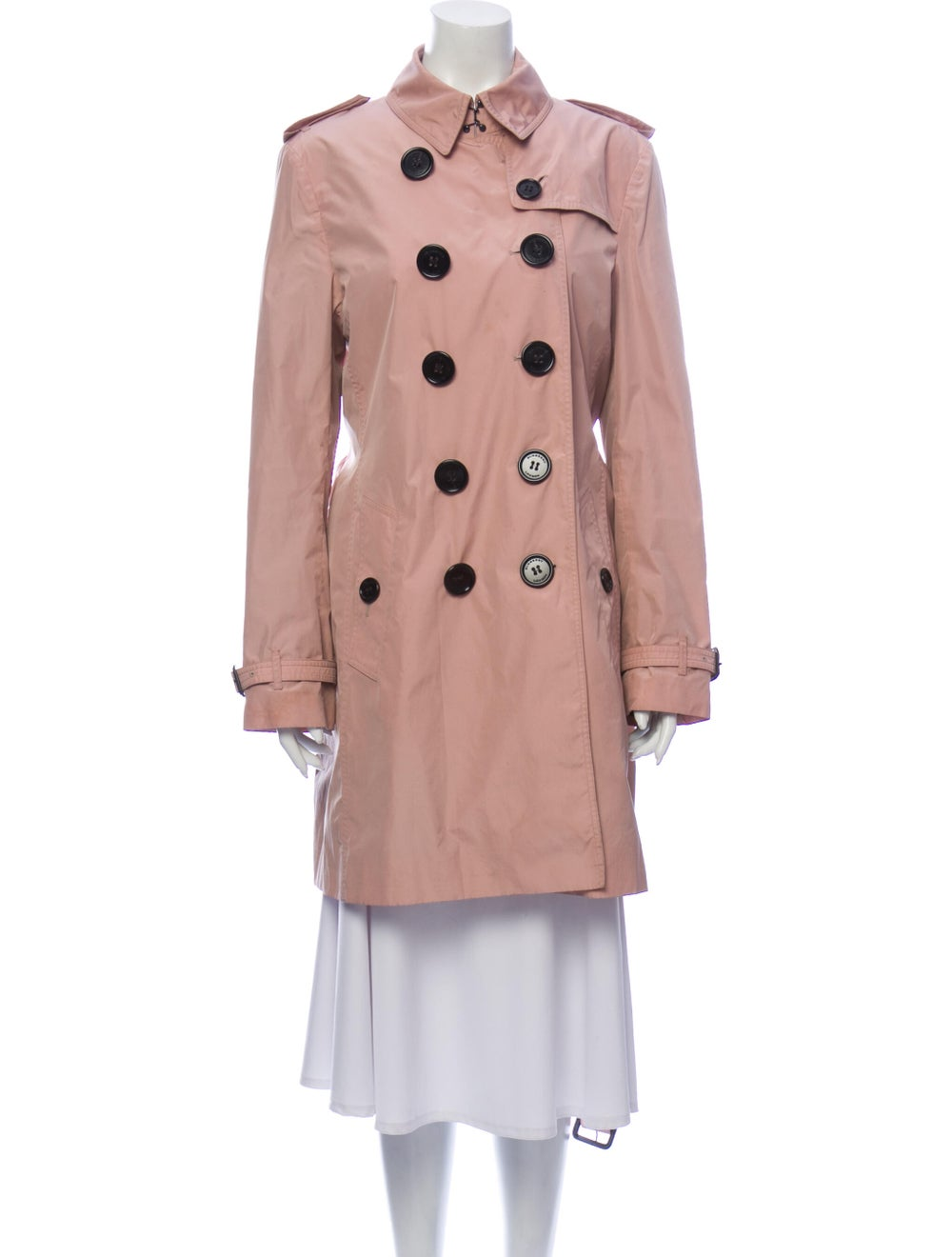 Burberry London Trench Coat Pink - image 4