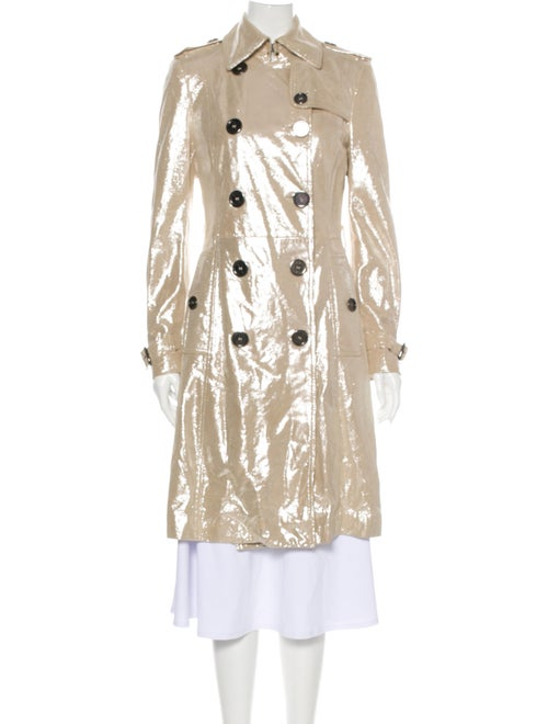 Burberry London Trench Coat w/ Tags Metallic
