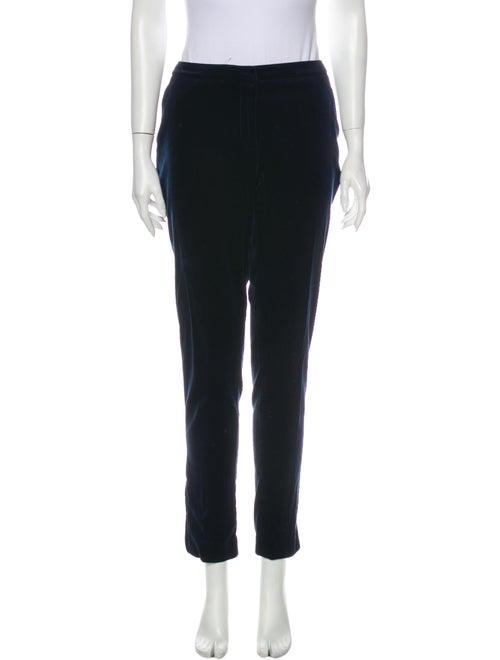 Burberry London Straight Leg Pants Blue