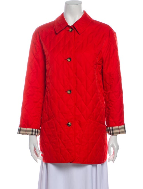Burberry London Coat Red