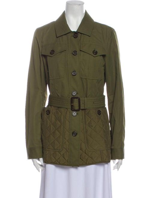 Burberry London Utility Jacket Green