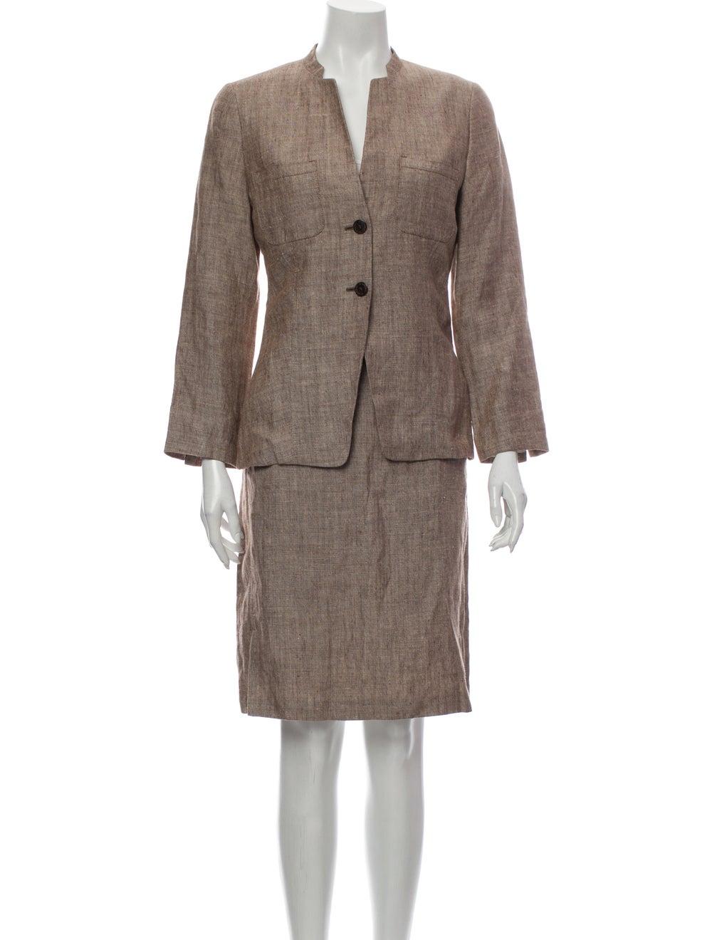 Burberry London Linen Skirt Suit - image 1
