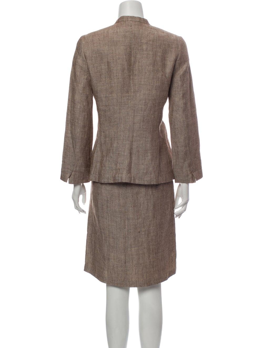 Burberry London Linen Skirt Suit - image 3