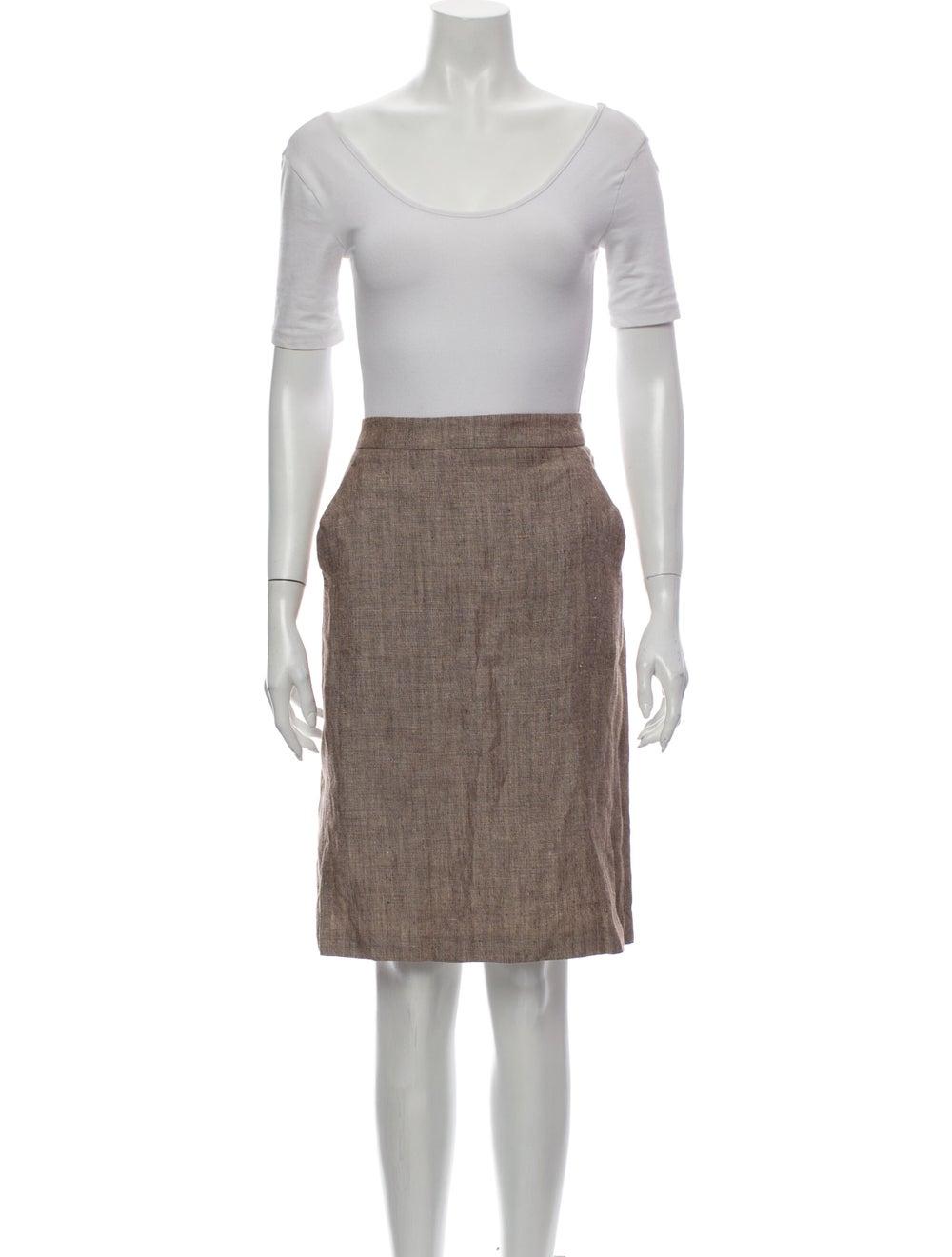 Burberry London Linen Skirt Suit - image 4