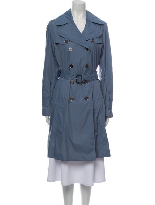 Burberry London Trench Coat Blue