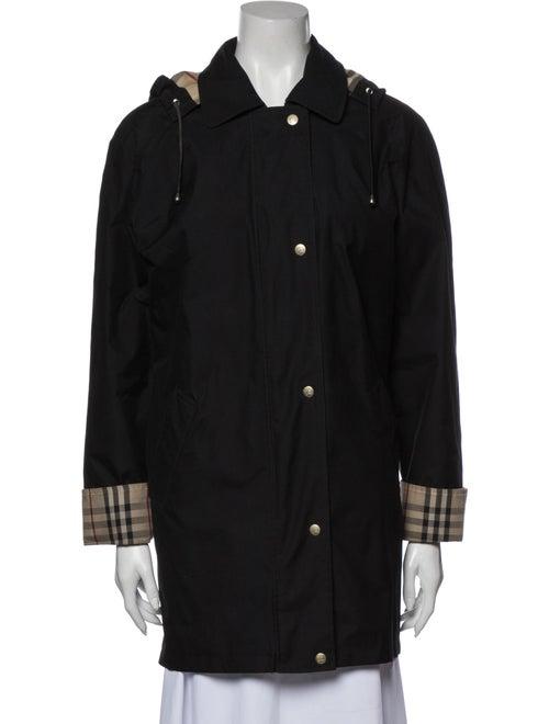 Burberry London Rain Coat Black
