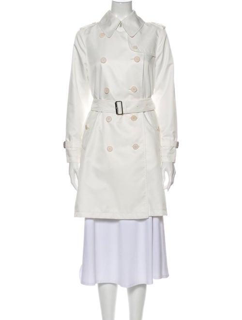 Burberry London Trench Coat White