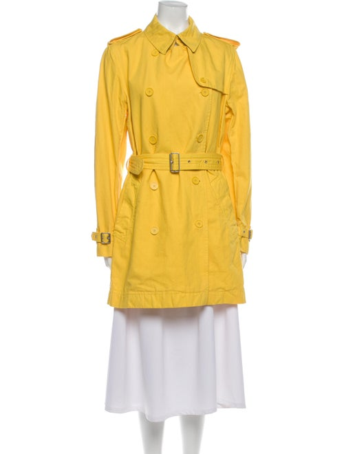 Burberry London Trench Coat Yellow