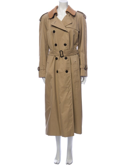 Burberry London House Check-Lined Trench Coat Tren