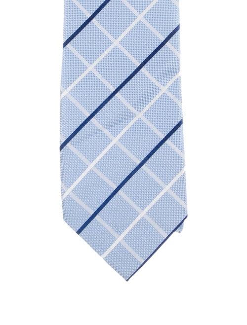 Burberry London Silk Tie blue