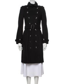 Burberry London Virgin Wool Trench Coat