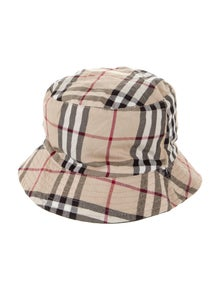 Burberry London Check Bucket Hat w/ Tags