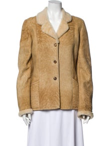 Burberry London Shearling Fur Jacket