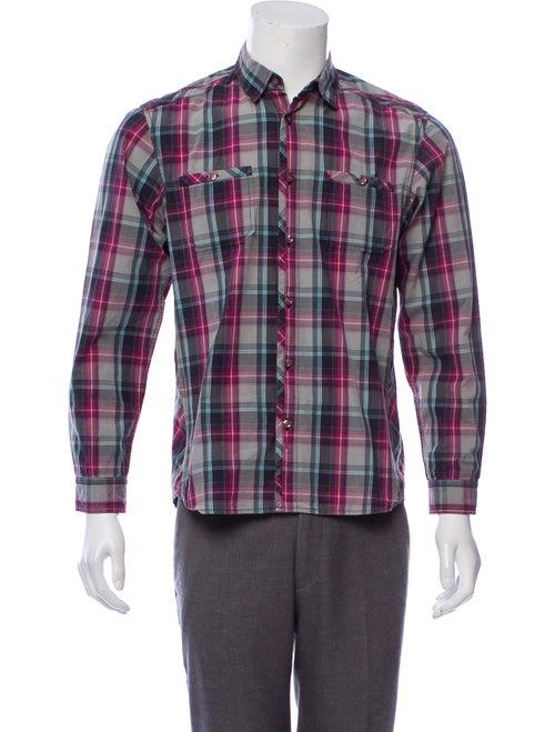 Burton Madras Plaid Button-Up Shirt violet