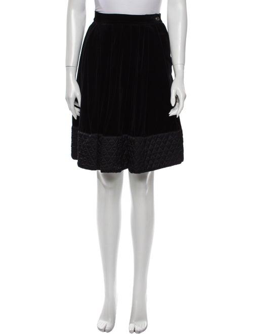 Byblos Knee-Length Skirt Black