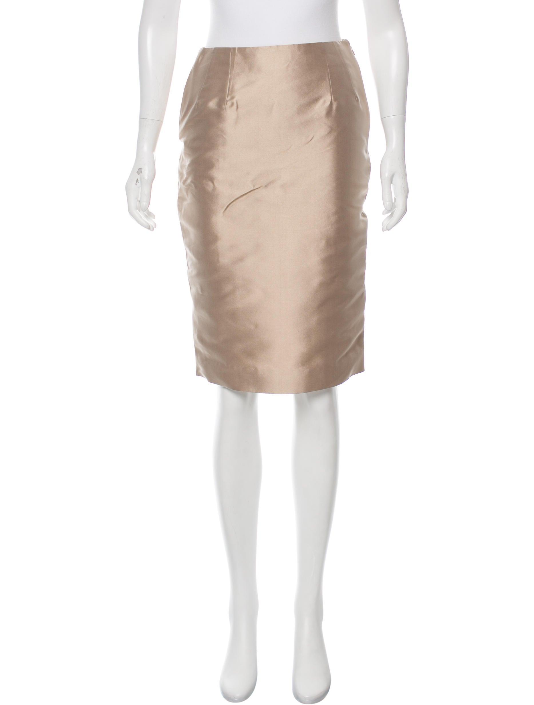 barbara tfank knee length pencil skirt clothing