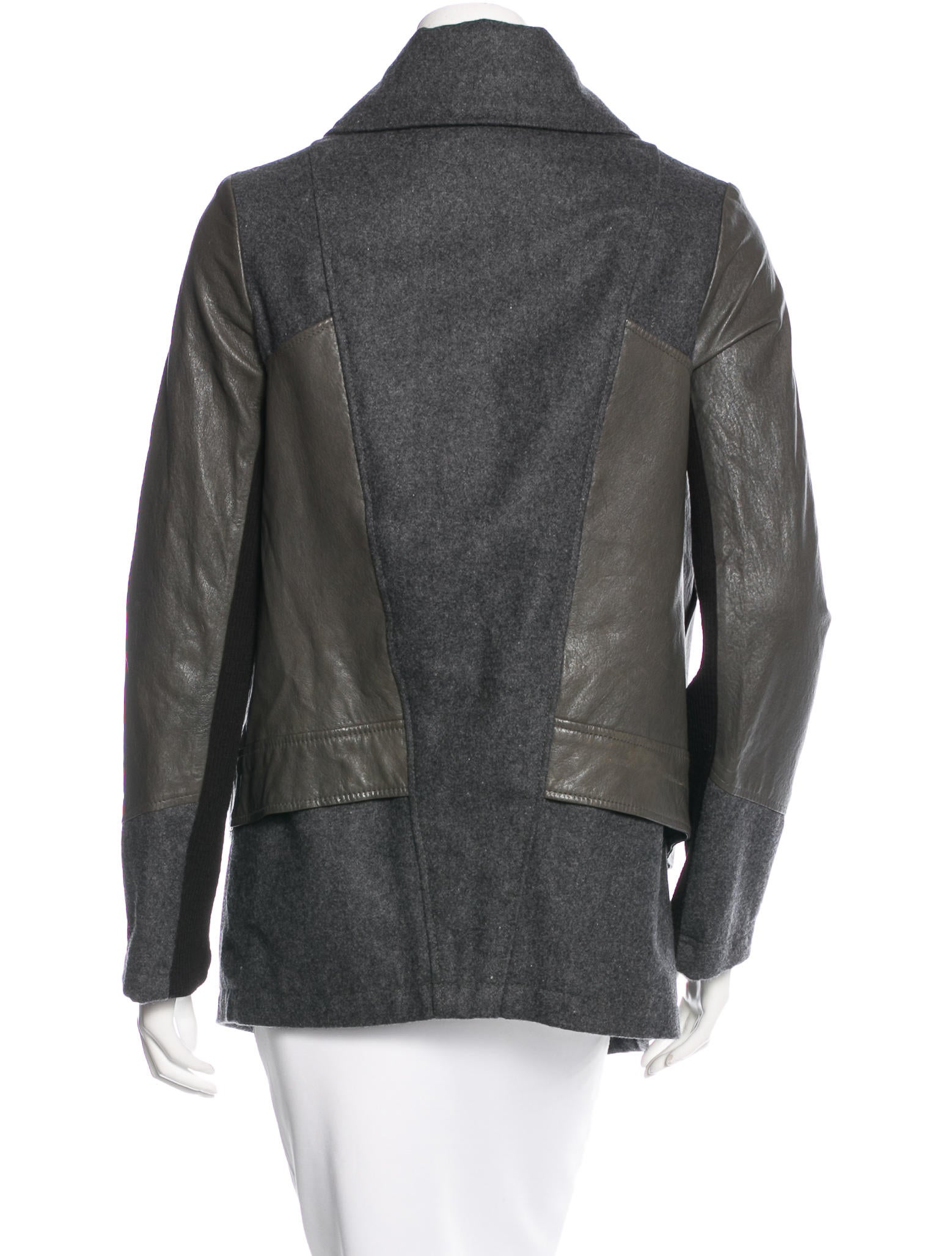 Find wool and leather jacket at ShopStyle. Shop the latest collection of wool and leather jacket from the most popular stores - all in one place.