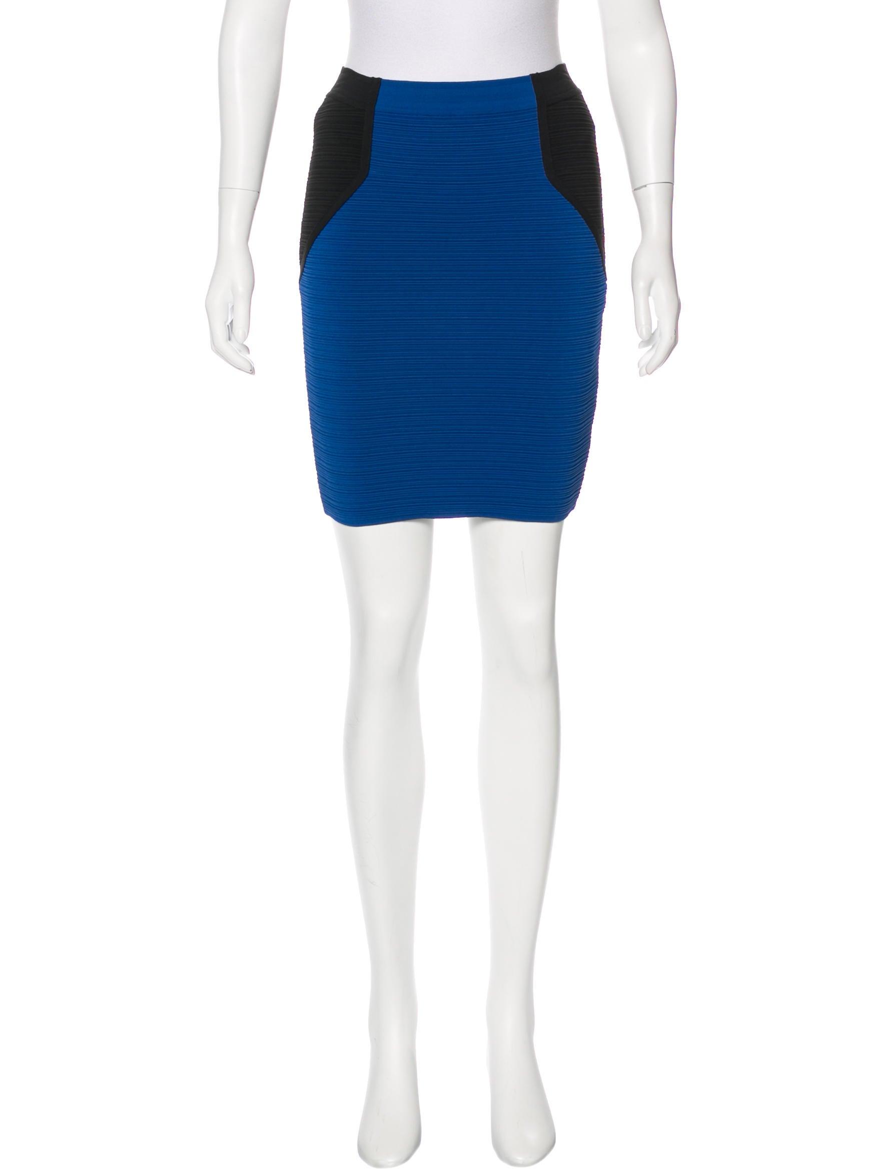 cut25 by yigal azrou 235 l bodycon knee length skirt w tags