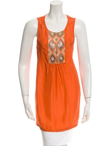 Calypso Andrina Silk Tunic w/ Tags