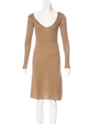 Calypso Christiane Celle Cashmere Dress None