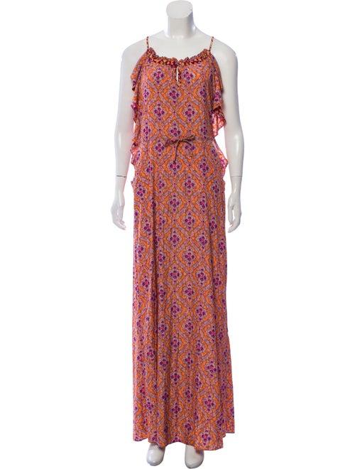 Calypso Printed Maxi Dress multicolor
