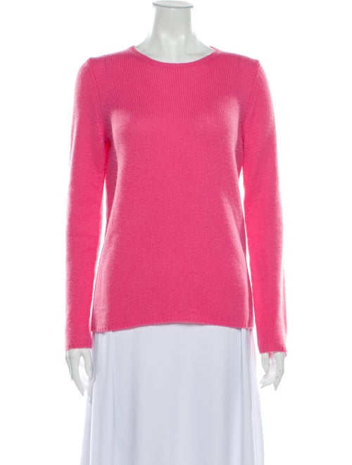 Calypso Cashmere Scoop Neck Sweater Pink