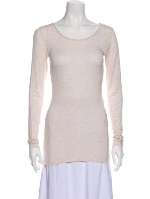 Calypso Scoop Neck Long Sleeve T-Shirt
