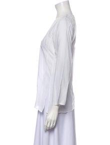 Calypso Scoop Neck Three-Quarter Sleeve Tunic