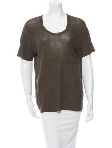 Creatures of Comfort Short Sleeve Wool Top w/ Tags None