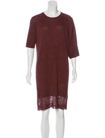Creatures of Comfort Shift Sweater Dress None