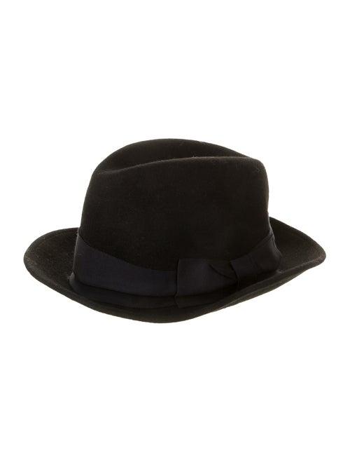 Ca4La Felt Fedora Hat Black
