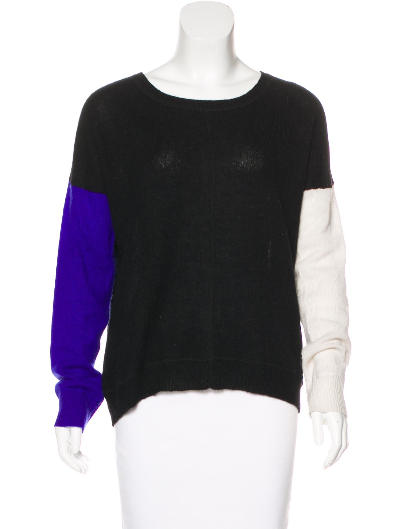 360 Cashmere Cashmere Colorblock Sweater In China Online Outlet Sale Online Clearance Best Seller 22VCJbatc