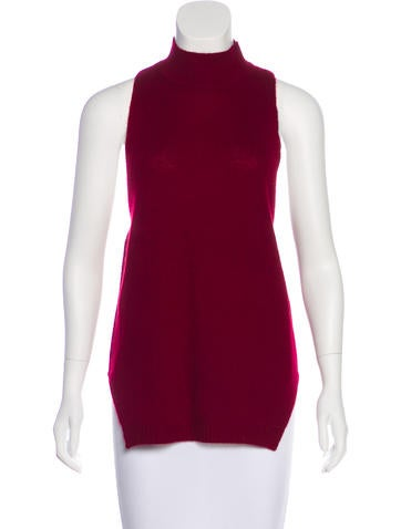360 Cashmere Sleeveless Top None