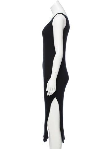 Rib Knit Midi Dress w/ Tags