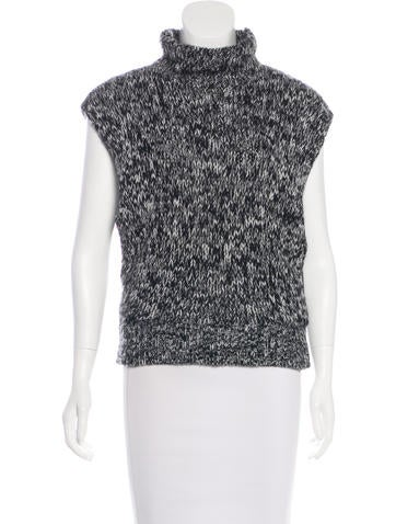 360 Cashmere Wool & Cashmere-Blend Top w/ Tags None