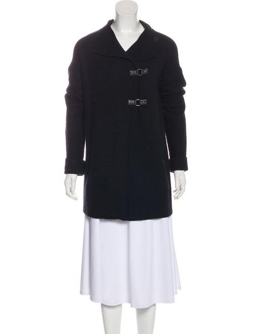 360 Cashmere Wool & Cashmere-Blend Cardigan Black