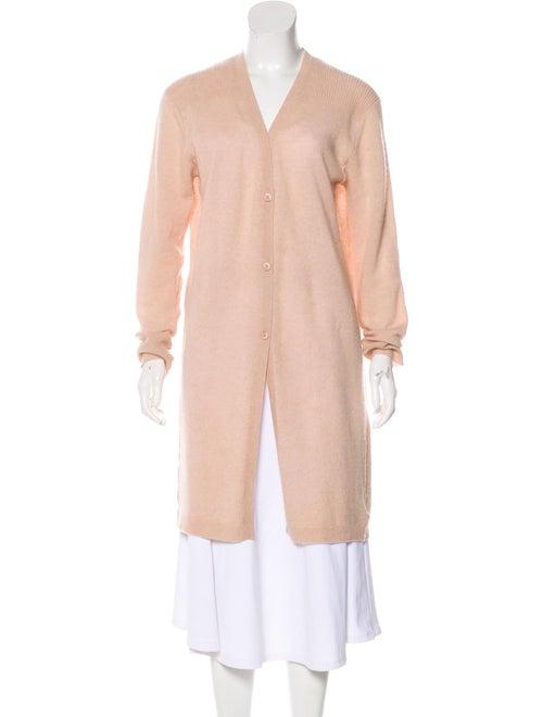 360 Cashmere Long Cashmere Cardigan Pink